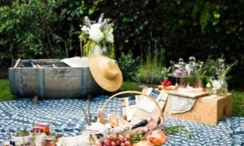 Castello Marchesi di Romagnano: picnic all'ombra della dimora settecentesca