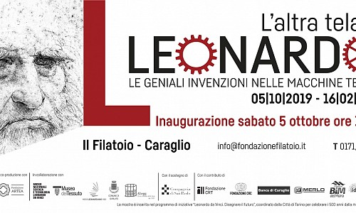 A Caraglio...le geniali invenzioni di Leonardo